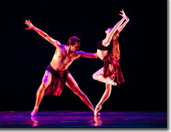 Dmitry Trubchanov and Dana Benton in Ave Maria