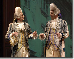 (L to R) Sam Gregory and David Ivers as the Venticelli