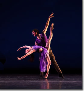 Maria Mosina and Domenico Luciiano in The Last Beat