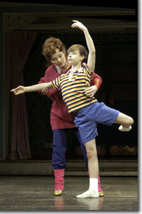 Mrs. Wilkinson (Susie McMonagle) and Billy (Daniel Russell)
