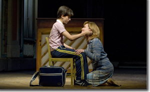Billy (Giuseppe Bausilio) and Mum (Beverly Ward)