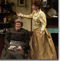 Photo of Kathleen M. Brady as Catherine and Annette Helde as Anna