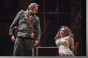 Adriano Graziani as Don Jose anbd Emily Pulley as Carmen