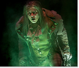 Jeffrey Roark as Ghost of Jacob Marley