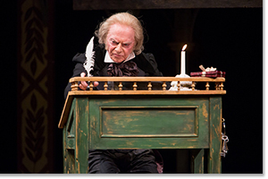 Philip Pleasants as Ebenezer Scrooge