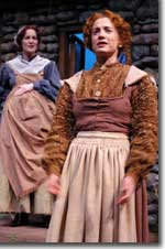 Photo of Diana Dresser as Bridget and Anne Penner as Eilis