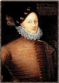 Photo of the Welbeck portrait of Edward de Vere