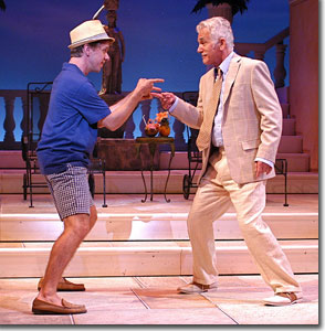(Left to right) Ben Nordstrom as Freddy and Dennis Parlato as Lawrence