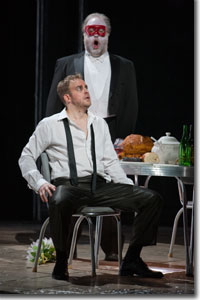 Christopher Magiera as Don Giovanni and Richard Wiegold as Commendatore