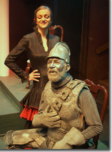 Julie Michalak as Dona Ana and Paul A. Caouette as Commander