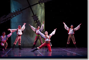 Artists of the Colorado Ballet as the Gypsy Men
