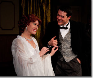 Katie Ulrich as Janet Van De Graff and Brian Jackson as Robert Martin