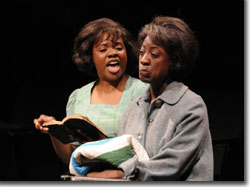 (Left to right) Nikki E. Walker as Sadie Pettway and Daphne Gaines as Nella Pettway