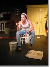 Photo of Missy Moore as the Scenic Artist