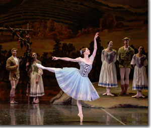 Maria Mosina as Giselle