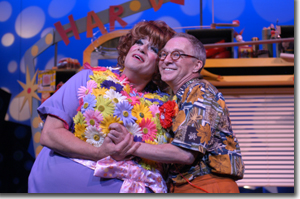 Jim J. Bullock as Edna and D.P. Perkins as Wilbur