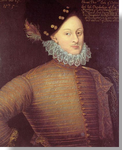 Edward de Vere, the 17th Earl of Oxford