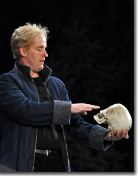Stephen Weitz as Hamlet