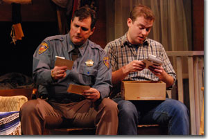 (Left to right) Michael McNeill as Dale and Jake Walker as Mark
