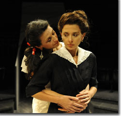 (Left to right) Franca Sofia Barchiesi as Clara and Jeanine Serralles as Ferula