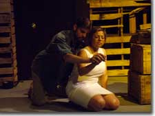 Photo of Phil Newsom as Mark and Linda Chavez as Lily