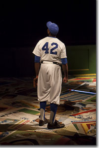 William Oliver Watkins as Jackie Robinson
