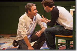 Timothy McCracken as Dad and Aaron M. Davidson as Joey