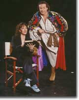 Photo of Shelly Cox-Robie as The Narrator and Scott Beyette as Joseph
