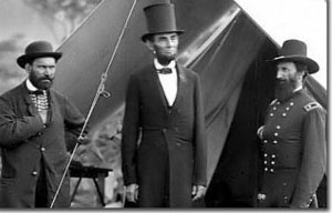 Lincoln at Antietam