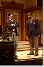 Photo of Rick Stear as Jeff and Terrence Riggins as William