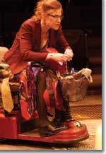 Photo of Annette Helde as Josephine, Madwoman of Upper West Side