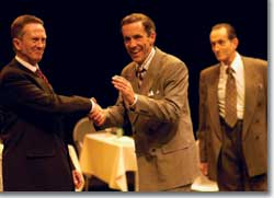 Photo of Jamie Horton (Senator), John Hutton (CEO), and Randy Moore (Broker)