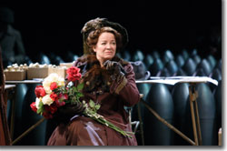 Clare Higgins as Lady Britomart Undershaft