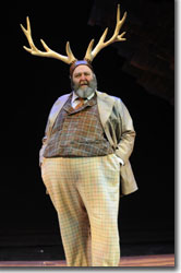 Brian Keith Russell as Sir John Falstaff