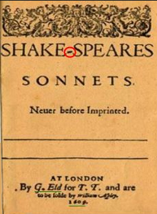 The Sonnets, first edition