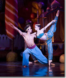 Shelby Dyer and Luis Valdes in the Arabian