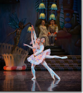 Maria Mosina as the Sugar Plum Fairy and Alexei Tyukov as the Cavalier