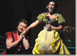 Ryan MacPherson as Pluto and Joanna Mongiardo as Eurydice