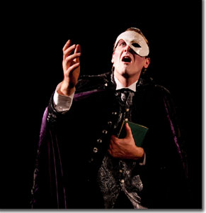 Markus Warren as Erik, the Phantom