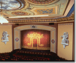 Interior of Central City Opera House