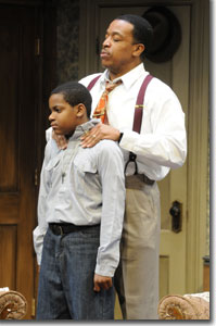 Raisin In The Sun Movie Walter And Travis as Travis YoungerA Raisin In The Sun Movie Walter And Travis