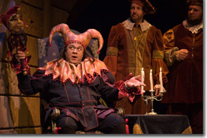 Gordon Hawkins as Rigoletto