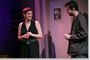 Kate Finch as Sylvia and Tad Cooley as Billy