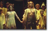 Photo of Tytania (Anna Christie) and Oberon (David Walker)
